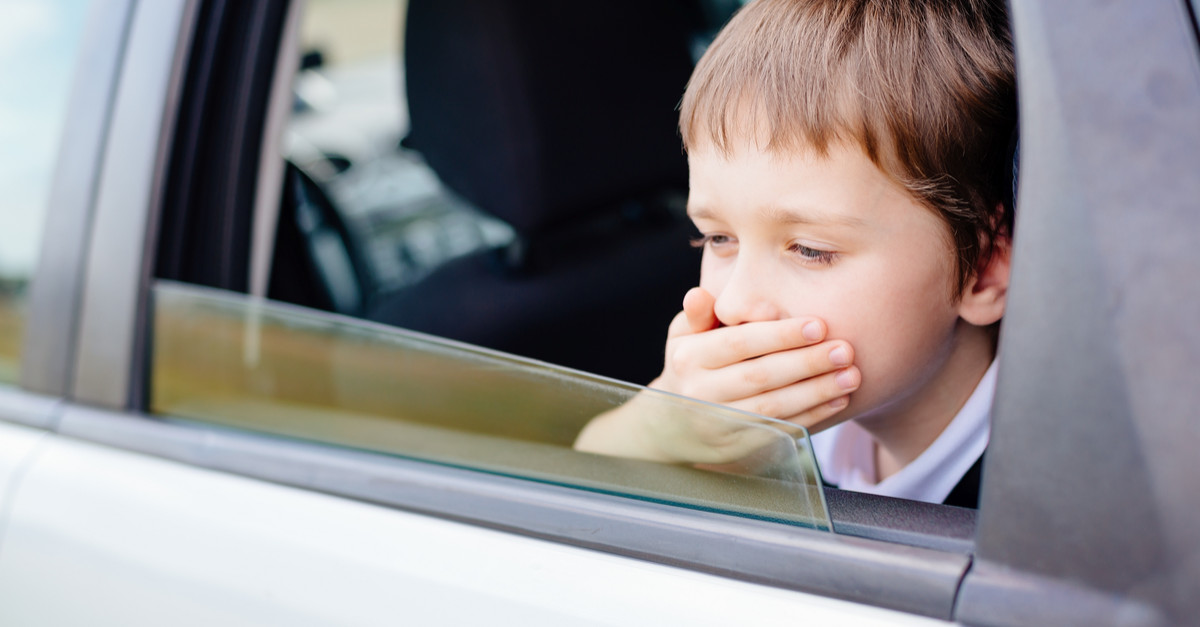 Worried About Car Sick Kids?